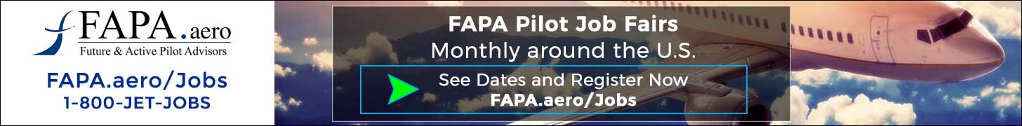 FAPA Pilot Job Fairs 2017