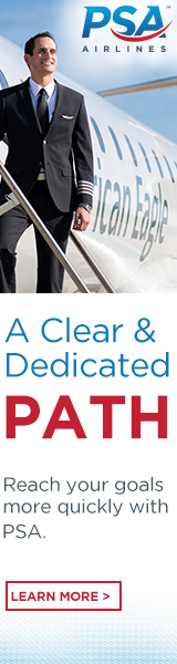 PSA Airlines Clear and Dedicated Path
